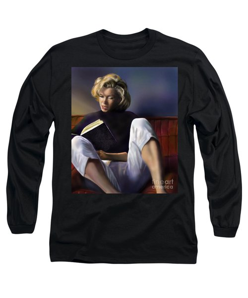 Norma Jeane Baker Long Sleeve T-Shirt