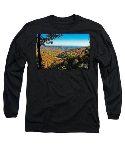 North Carolina Fall Foliage Long Sleeve T-Shirt