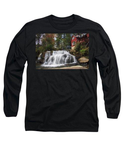 North Carolina Waterfall Long Sleeve T-Shirt