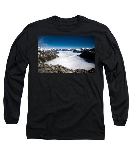Norway In The Clouds Long Sleeve T-Shirt by Bill Howard