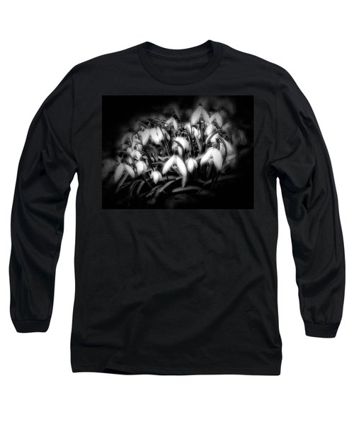 Long Sleeve T-Shirt featuring the photograph Not Everything Needs Color by Gabriella Weninger - David