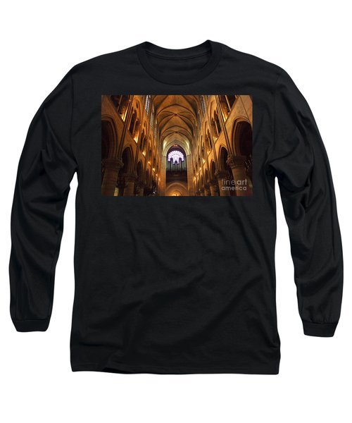 Notre Dame Ceiling Long Sleeve T-Shirt