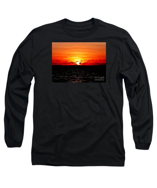 November Sky Long Sleeve T-Shirt by Amar Sheow