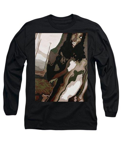 Nude4 Long Sleeve T-Shirt