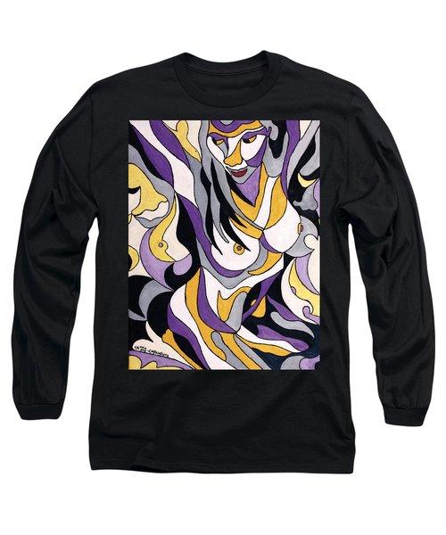 Nude6 Long Sleeve T-Shirt