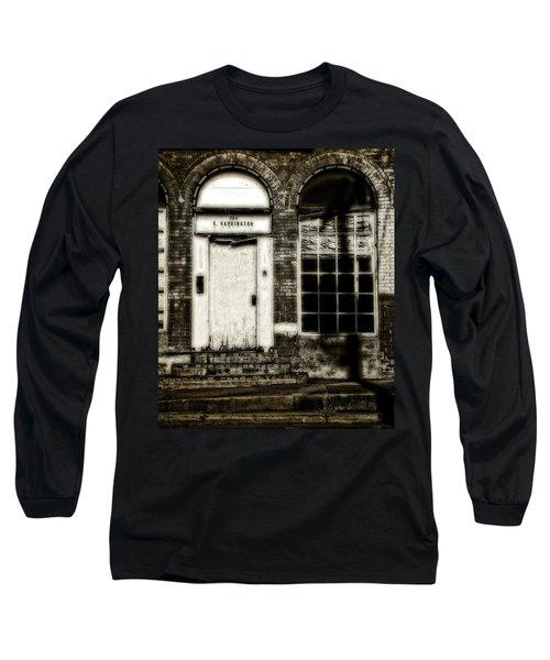 Number 104 Long Sleeve T-Shirt by Mark Alder