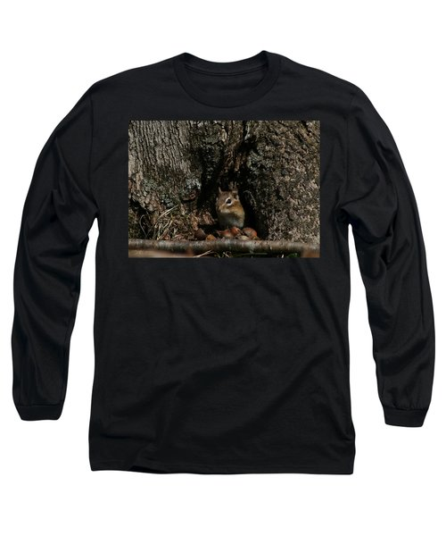 Nut Therapy  Long Sleeve T-Shirt by Neal Eslinger