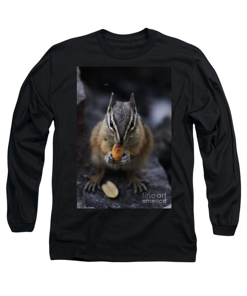 Nuts Long Sleeve T-Shirt by Alyce Taylor
