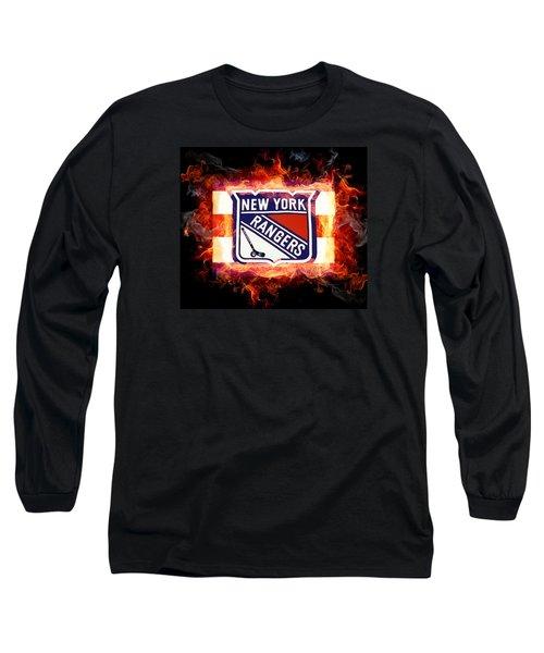 Ny Rangers Are Hot Long Sleeve T-Shirt