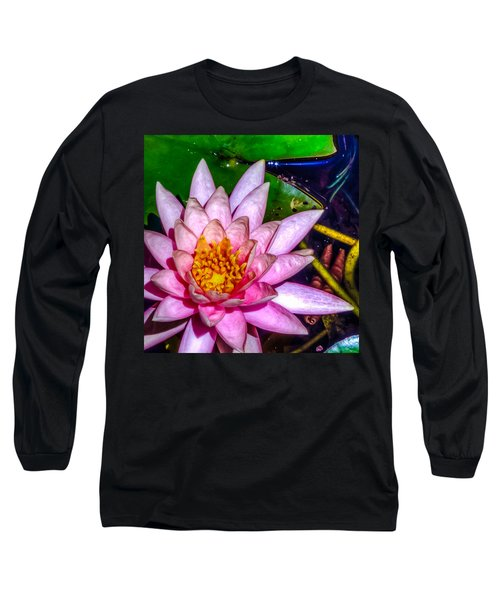 Long Sleeve T-Shirt featuring the photograph Nymphaeaceae by Rob Sellers