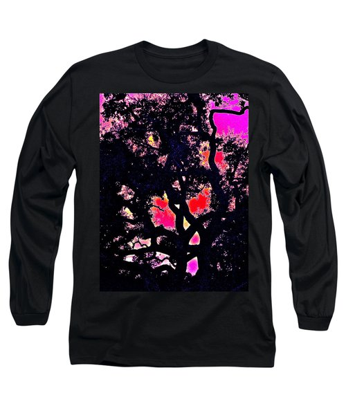 Long Sleeve T-Shirt featuring the photograph Oaks 10 by Pamela Cooper