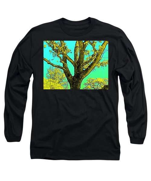 Long Sleeve T-Shirt featuring the photograph Oaks 3 by Pamela Cooper