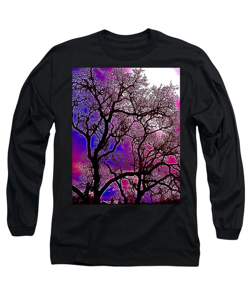 Oaks 6 Long Sleeve T-Shirt by Pamela Cooper