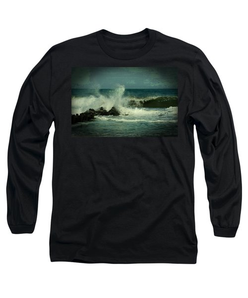 Ocean Impact - Jersey Shore Long Sleeve T-Shirt