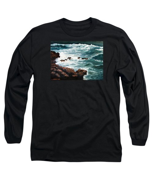 Ocean Rocks  Long Sleeve T-Shirt