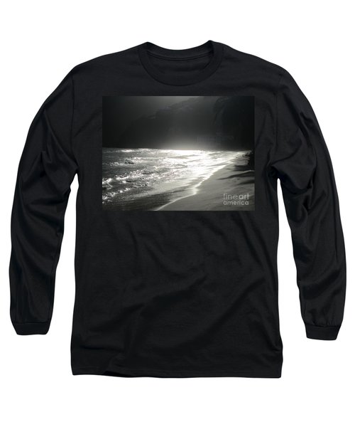 Ocean Smile Long Sleeve T-Shirt by Fiona Kennard