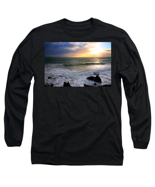 Ocean Sunset 84 Long Sleeve T-Shirt