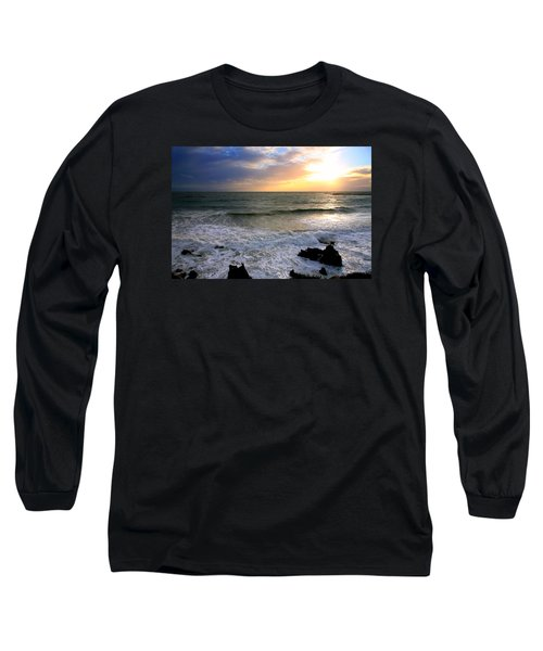Ocean Sunset 84 Long Sleeve T-Shirt