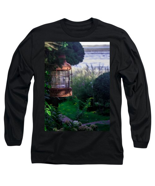 Long Sleeve T-Shirt featuring the photograph Oceanside Lantern by Patrice Zinck