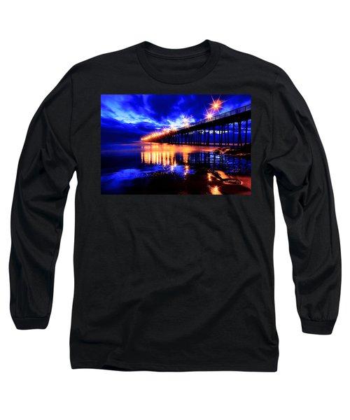 Oceanside Pier 4 Long Sleeve T-Shirt