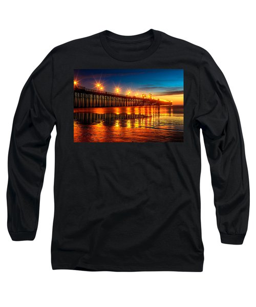 Oceanside Pier 2 Long Sleeve T-Shirt