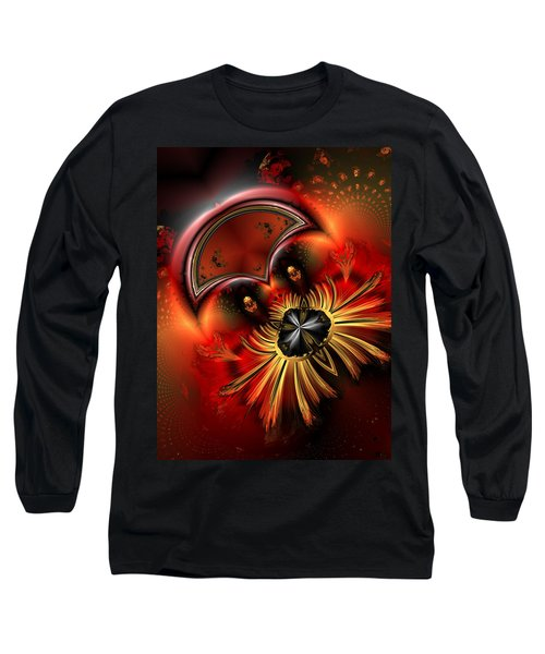 Ocf 199 Fido In Abstract Long Sleeve T-Shirt