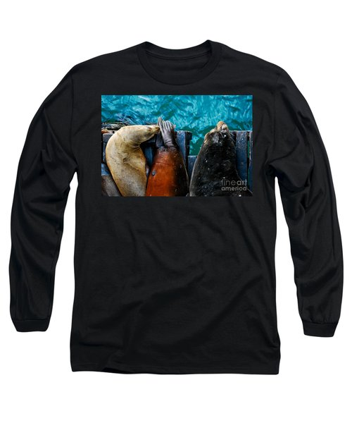 Odd Man Out California Sea Lions Long Sleeve T-Shirt