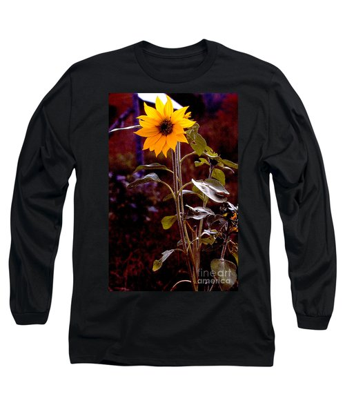 Ode To Sunflowers Long Sleeve T-Shirt by Patricia Keller