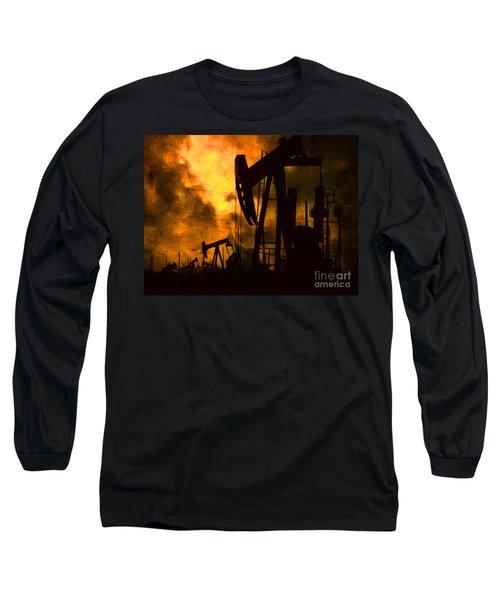 Oil Pumps Long Sleeve T-Shirt