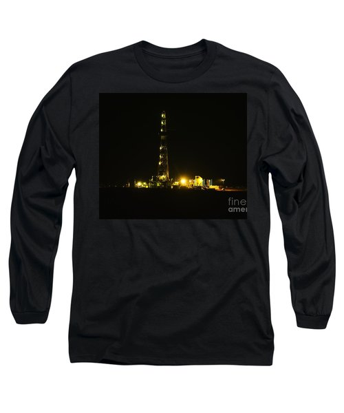 Oil Rig Long Sleeve T-Shirt