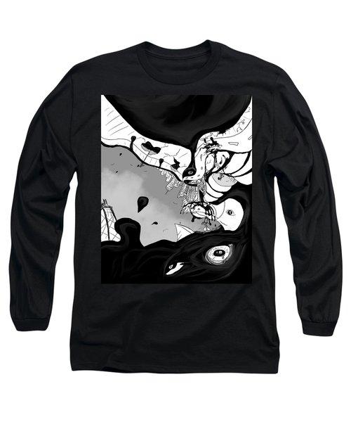 Oil Spill Long Sleeve T-Shirt