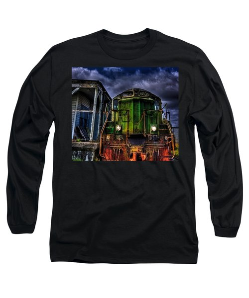 Long Sleeve T-Shirt featuring the photograph Old 6139 Locomotive by Thom Zehrfeld