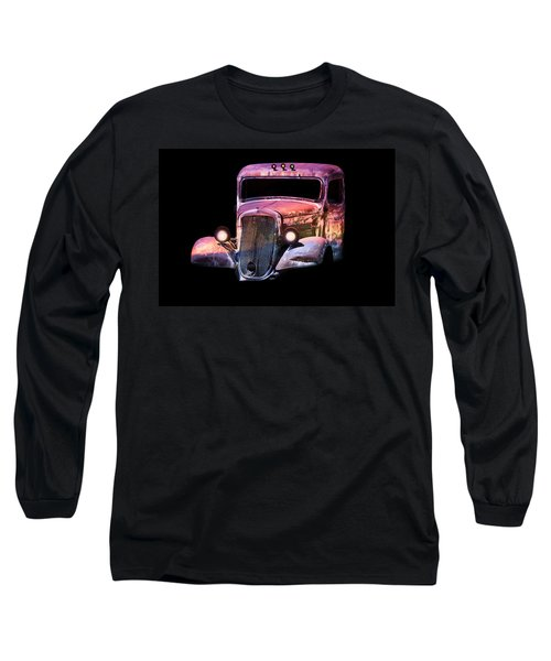 Old Antique Classic Car Long Sleeve T-Shirt
