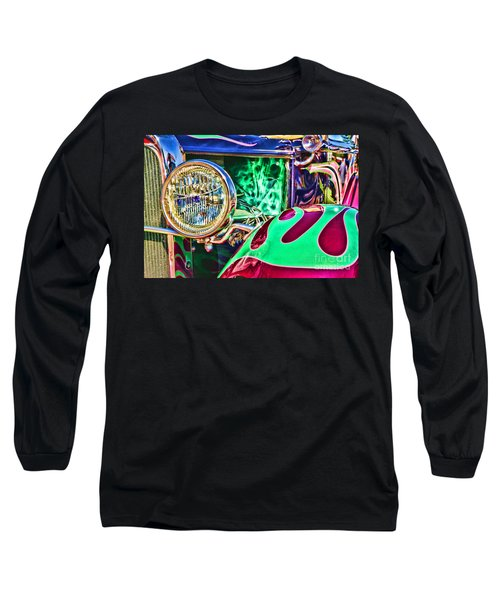 Old Betty Ford Vintage Car By Diana Sainz Long Sleeve T-Shirt