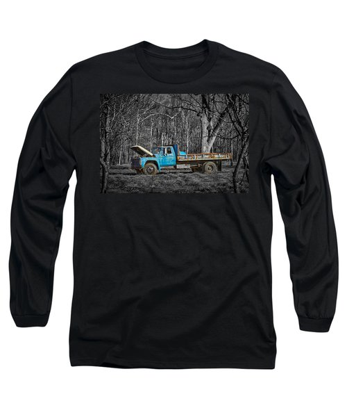 Old Blue Long Sleeve T-Shirt