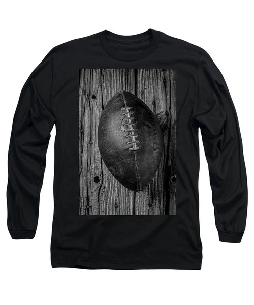 Old Football Long Sleeve T-Shirt by Garry Gay
