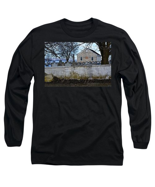 Old Leacock Presbyterian Church And Cemetery Long Sleeve T-Shirt