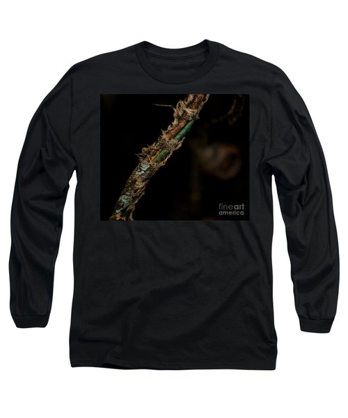 Old Motorcycle Wiring Long Sleeve T-Shirt