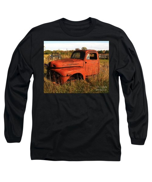 Old Orange Long Sleeve T-Shirt