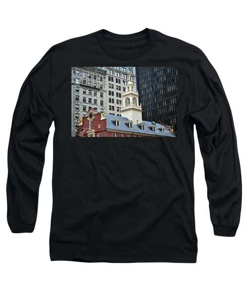 Old State House Boston Ma Long Sleeve T-Shirt