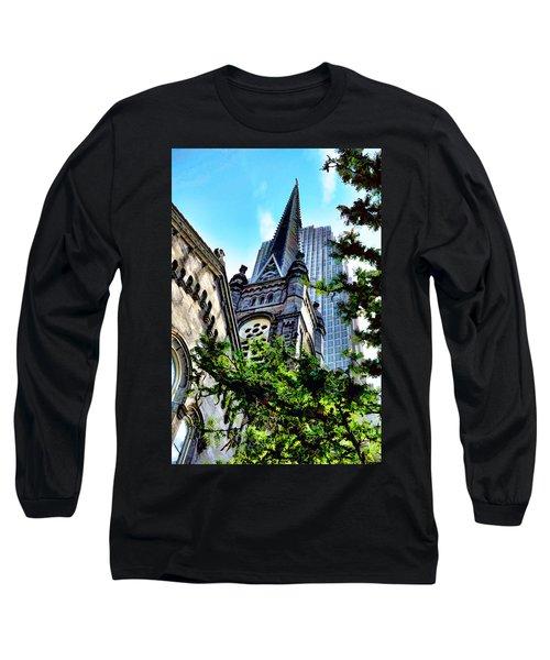 Old Stone Church - Cleveland Ohio - 1 Long Sleeve T-Shirt