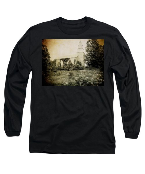 Old Stone Church In Rhinebeck Long Sleeve T-Shirt