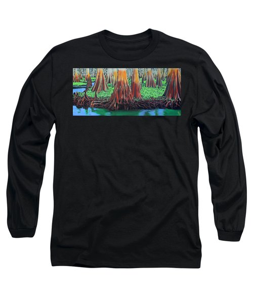 Old Swampy Long Sleeve T-Shirt