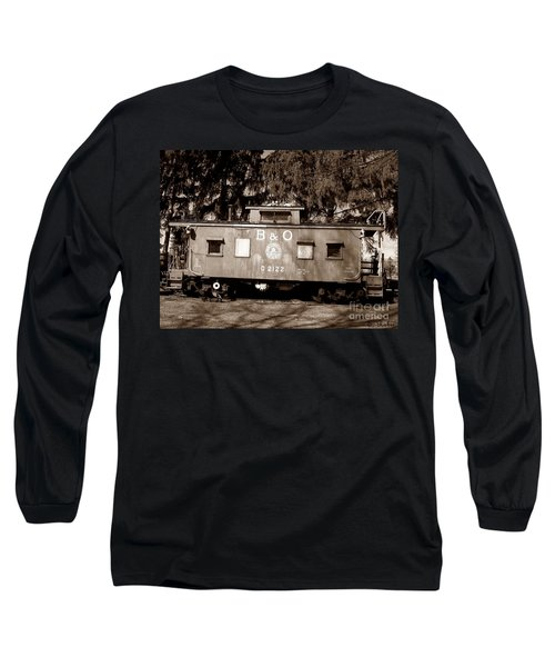 Long Sleeve T-Shirt featuring the photograph Old Timer by Sara  Raber