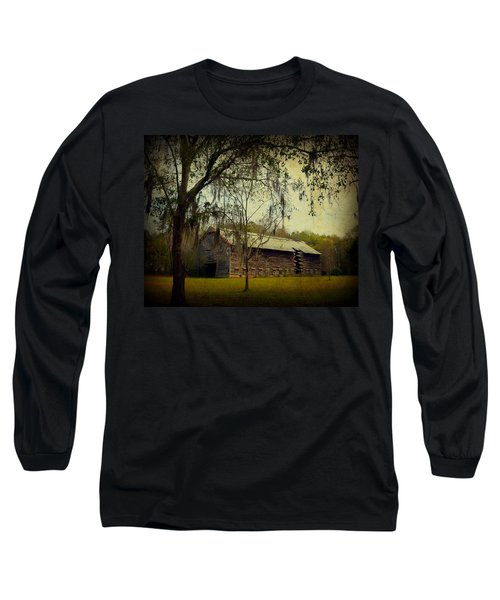 Old Tobacco Barn Long Sleeve T-Shirt