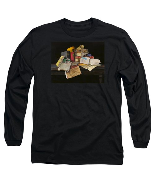 Old Traditions Long Sleeve T-Shirt by Barry Williamson