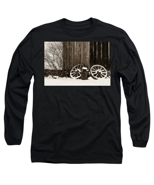 Old Wagon Wheels Long Sleeve T-Shirt