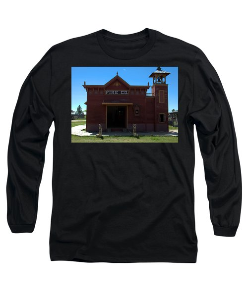 Old West Fire Station Long Sleeve T-Shirt