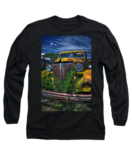 Long Sleeve T-Shirt featuring the photograph Old Yeller by Ken Smith