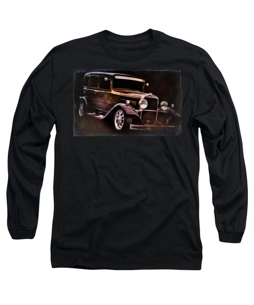 Vintage Long Sleeve T-Shirt featuring the photograph Oldie by Aaron Berg